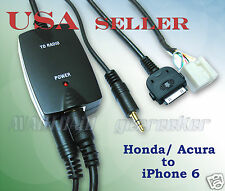 iPhone6 iPhone5 iPod Smartphone to HONDA 2005-2011 Odyssey Pilot Audio Cable Set