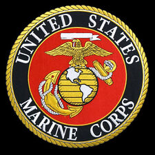 USMC Marines EMROIDERED IRON ON  Military PATCH