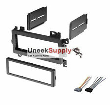 CAR STEREO RADIO DASH INSTALL KIT INSTALLATION TRIM PIECE w/ Wire Harness