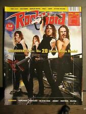 ROCK HARD METAL MAGAZINE 263 - 2009 - AIRBOURNE CANDLEMASS PESTILENCE