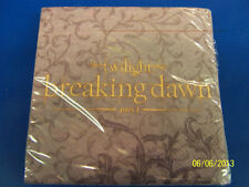 RARE Twilight Saga Breaking Dawn Movie Birthday Party Paper Beverage Napkins