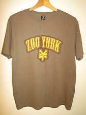 Zoo York Marrone Top T-shirt taglia M misto cotone