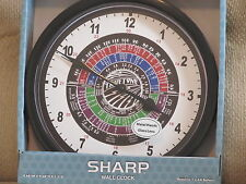 Amateur Ham Radio Wall Clock TRUETONE TRUE TONE  dial Zulu time -  NEW in box