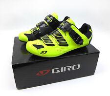 Giro Men's Factor Road Bike Shoes (Highlight Yellow/Black -  Size 40EU) NEW