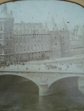 PHOTO STEREO POLYRAMIQUE PARIS FRANCE MONUMENT GRAND BOULEVARD  1870 STEREOVIEW