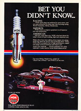 1984 Dodge 400 Daytona Colt Ram NGK -  Original Car Advertisement Print Ad J283