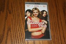 The Sweetest Thing PSP UMD Christina Applegate Cameron Diaz NEW