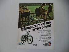 advertising Pubblicità 1973 MOTO GILERA 50 7HP 5V TOURING