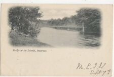 Bridge At The Islands Inverness 1903 Postcard 241a