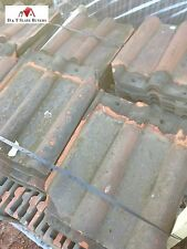 Reclaimed / Second-hand Clay Double Roman Roofing Tiles