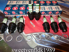 NOS AC-R44 Spark Plugs w/Green Rings....Corvette Chevelle, Camaro, Impala..etc.