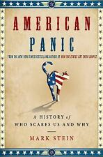 American Panic: A History of Who Scares Us and Why-ExLibrary