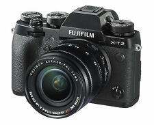 FUJIFILM FUJI FILM Japan Mirror-Less Lens Kit Camera X-T2 XT2 X-T2LK-B 18-55mm