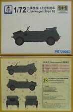 Kübelwagen Typ 82 , 1/72, S-Model ,Doppelpack, Plastk, NEU,