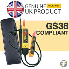 Genuine FLUKE T90 Voltage & Continuity Tester + 1 AC Voltstick + LDMC1 Case Kit