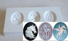 Ceramic Mold  - Mythological Cameos - Polymer Clay, Ceramic or Porcelain Slip