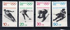 BRD Briefmarken 1971 Olympia Sapporo Mi.Nr.680-83 ** postfrisch
