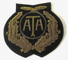 WW2 British ATA Air Transport Auxiliary Peaked Cap Hat Badge New Condition RAF