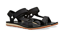 Teva Original Universal Premium Leather Black Sandals Mens 11 *NEW IN BOX*