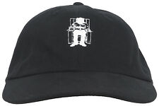 The Hundreds Death Row Exectutioner Dad Hat Strapback Cap Headwear Lid Black OS
