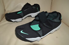 New Nike Mens Air Rift Running Shoes 308662-025 sz 7 Black (Split Toe)