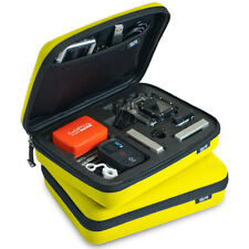 GOPRO SP STORAGE CARRY CASE YELLOW HERO HD 1 2 3 3+ 4 CAMERAS & ACCESSORIES