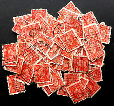 CANADA #197  USED LOT OF 100 STAMPS 1932  scrap-booking /COLLAGE 92 YEARS OLD