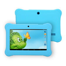 "New iRULU BabyPad 7"" 8GB/1GB Quad Core Android 4.4 Kid's Learning Tablet PC Blue"