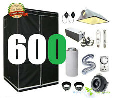 600w Cool Vent Ventilation  FanSystem Grow Tent Hydroponic Grow Kit setup Kit