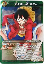 One Piece Miracle Battle Carddass Monkey D Luffy Super Rare 14/85