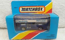matchbox mb-17 london bus girobank. Sealed unpunched box