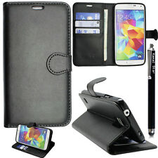 Kamal Star Black Book Cover Stand Wallet Leather Case for Samsung Galaxy S7