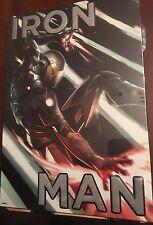 IRON MAN -   Embossed Tin Metal Sign