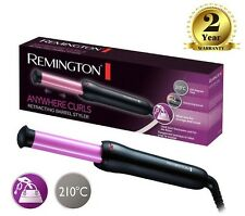 Remington Anywhere Curls Retractable Barrel Travel Hair Styler Curler Tong Wand