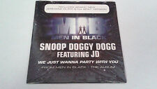 """SNOOP DOGGY DOGG & JD """"WE JUST WANNA PARTY WITH YOU"""" CD SINGLE 2 TRACKS"""