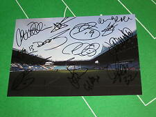 Sheffield Wednesday FC 2012/13 Squad Signed x 15 Hillsborough Stadium Photograph