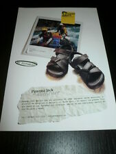 2001 - PANAMA JACK ADVENTURE SHOES ZAPATOS-AD PUBLICITE ANUNCIO - SPANISH - 1610