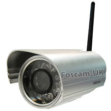 Foscam FI9804W 1.0MP HD Wireless Outdoor External IP Camera 20M Night Vision