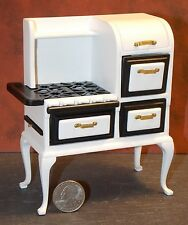 Dollhouse Miniature Old Fashion 1920's Cook Stove Kitchen 1:12  1 inch scale F71