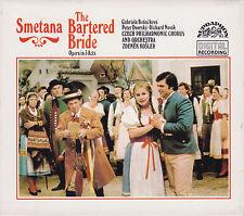 SMETANA: The Bartered Bride. Gabriela Benackova, Zdenek Kosler, 3 CDs, wie neu