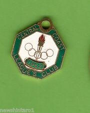 #D214. CENTRAL COAST  RUGBY LEAGUE CLUB MEMBER BADGE 1962 #2048