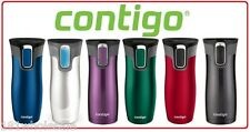 Contigo West Loop 2.0 LID LOCK Thermos Mug Stainless Steel Tea Coffee WestLoop