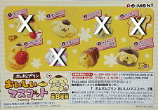 Miniatures  Sanrio Pomupomu pudding  delicious mascot 4 pcs only - Re-ment  h#2