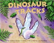 Dinosaur Tracks (Let's-Read-and-Find-Out Science 2)-ExLibrary