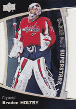 2016-17 Upper Deck Braden Holtby Clear Cut Superstars Capitals
