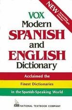 Vox Modern Spanish and English Dictionary (Vinyl cover) (Vox Dictionary)