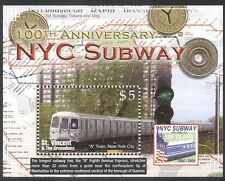 St Vincent 2004 Underground/Rail/Railways/Metro/Subway/Transport 1v m/s (n40053)