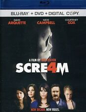 Scream 4 [2 Discs] [Includes Digital C (2011, Blu-ray NEUF) BLU-RAY/WS2 DISC SET