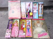 Barbie Doll Lot 10 NRFB Pet Doctor Coca Cola Birthday Bride Winter Mod Fantasy