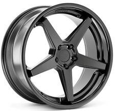 20x9/10.5 Ferrada FR3 5x114 +35/38 Black Wheels Fits Mustang V6 V8 Gt Gs400 430